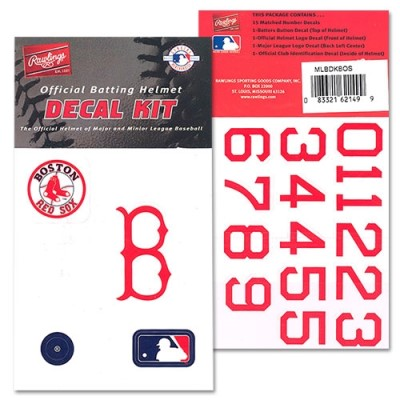 Samolepky Rawlings MLB Boston Red Sox