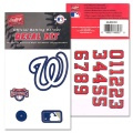 Samolepky Rawlings MLB Washington Nationals